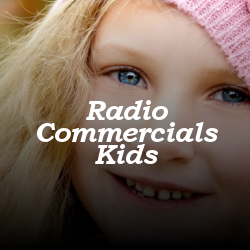 cute kids radio commercial